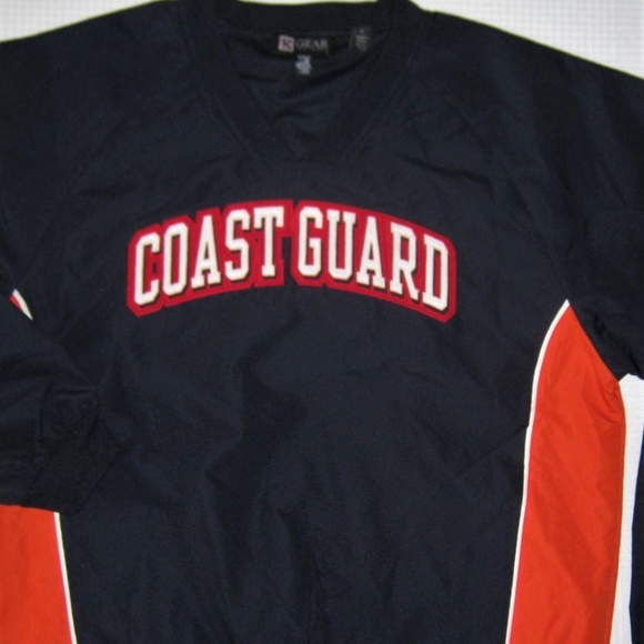 Gear for Sports Other - United States Coast Guard V Neck Anorak Jacket